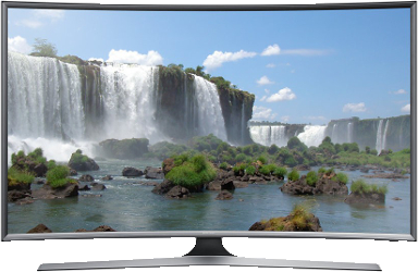 Samsung 32\'\' LED TV Curved - Grafika